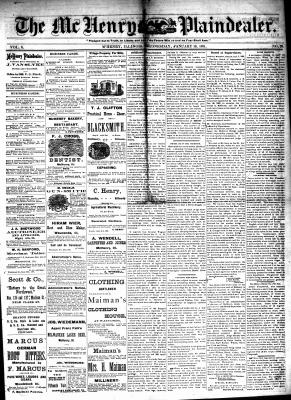 McHenry Plaindealer (McHenry, IL), 19 Jan 1881