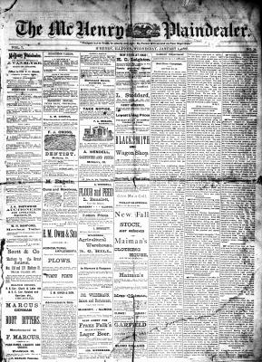 McHenry Plaindealer (McHenry, IL), 4 Jan 1882