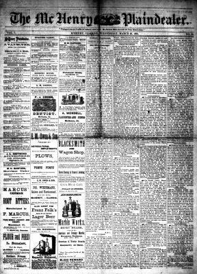 McHenry Plaindealer (McHenry, IL), 22 Mar 1882