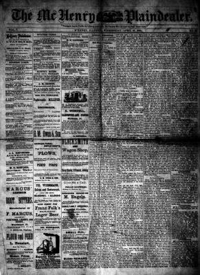 McHenry Plaindealer (McHenry, IL), 19 Apr 1882