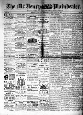 McHenry Plaindealer (McHenry, IL), 29 Nov 1882