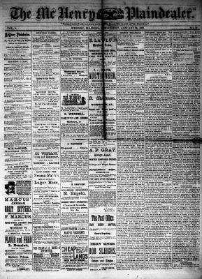 McHenry Plaindealer (McHenry, IL), 24 Jan 1883