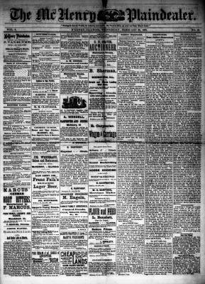 McHenry Plaindealer (McHenry, IL), 28 Feb 1883