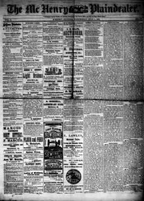 McHenry Plaindealer (McHenry, IL), 4 Jul 1883