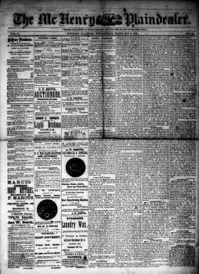 McHenry Plaindealer (McHenry, IL), 6 Feb 1884