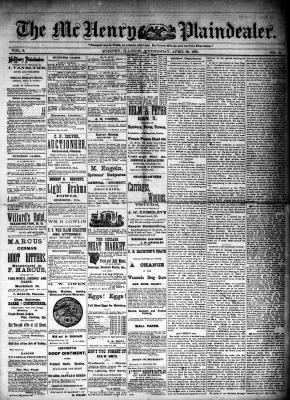 McHenry Plaindealer (McHenry, IL), 30 Apr 1884