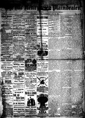 McHenry Plaindealer (McHenry, IL), 28 Jul 1886