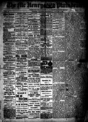 McHenry Plaindealer (McHenry, IL), 5 Jan 1887
