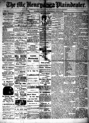 McHenry Plaindealer (McHenry, IL), 15 Jun 1887