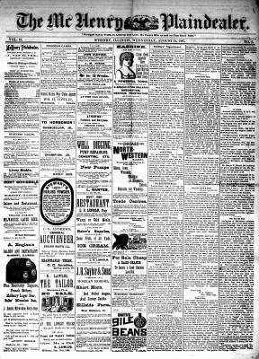 McHenry Plaindealer (McHenry, IL), 24 Aug 1887