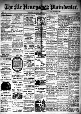 McHenry Plaindealer (McHenry, IL), 12 Oct 1887