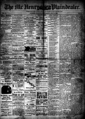 McHenry Plaindealer (McHenry, IL), 4 Jul 1888