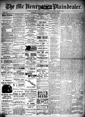 McHenry Plaindealer (McHenry, IL), 11 Jul 1888
