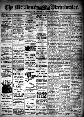 McHenry Plaindealer (McHenry, IL), 25 Jul 1888
