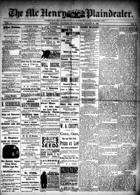 McHenry Plaindealer (McHenry, IL), 22 Aug 1888