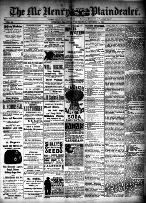 McHenry Plaindealer (McHenry, IL), 24 Oct 1888