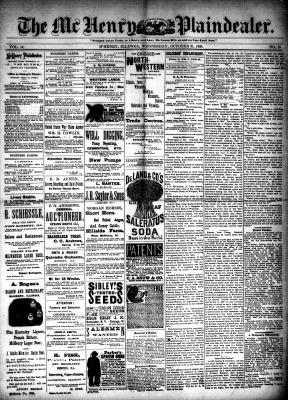 McHenry Plaindealer (McHenry, IL), 31 Oct 1888