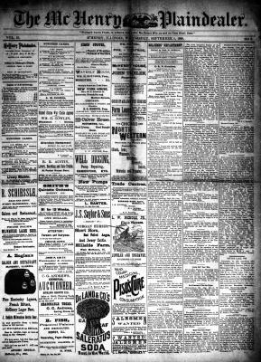 McHenry Plaindealer (McHenry, IL), 4 Sep 1889