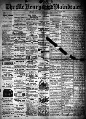 McHenry Plaindealer (McHenry, IL), 18 Dec 1889