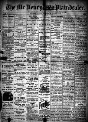 McHenry Plaindealer (McHenry, IL), 8 Jan 1890