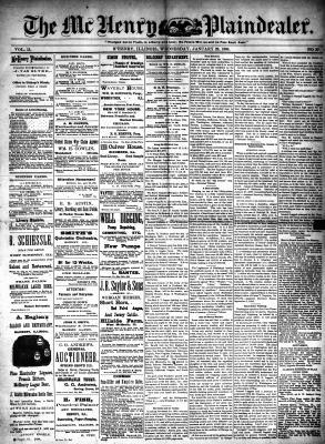 McHenry Plaindealer (McHenry, IL), 29 Jan 1890