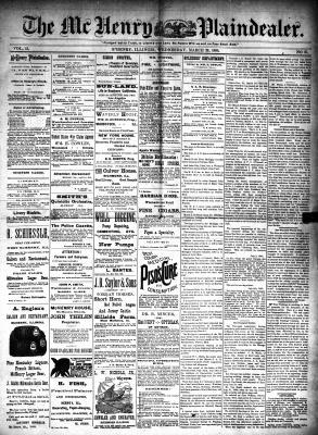 McHenry Plaindealer (McHenry, IL), 26 Mar 1890