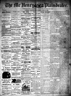 McHenry Plaindealer (McHenry, IL), 16 Apr 1890