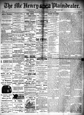 McHenry Plaindealer (McHenry, IL), 21 May 1890