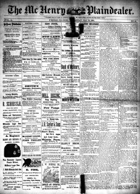 McHenry Plaindealer (McHenry, IL), 28 May 1890