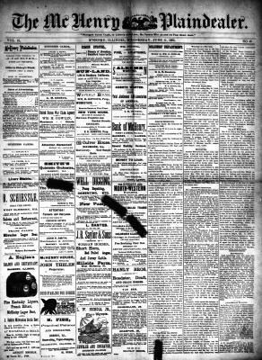McHenry Plaindealer (McHenry, IL), 11 Jun 1890