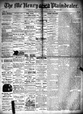 McHenry Plaindealer (McHenry, IL), 25 Jun 1890