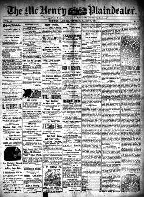McHenry Plaindealer (McHenry, IL), 9 Jul 1890