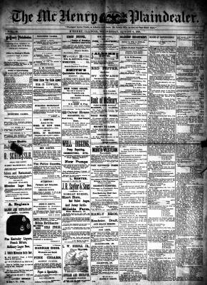 McHenry Plaindealer (McHenry, IL), 6 Aug 1890