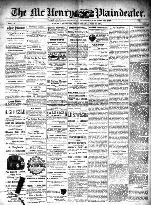 McHenry Plaindealer (McHenry, IL), 15 Apr 1891
