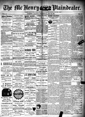 McHenry Plaindealer (McHenry, IL), 20 May 1891