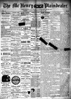 McHenry Plaindealer (McHenry, IL), 27 May 1891
