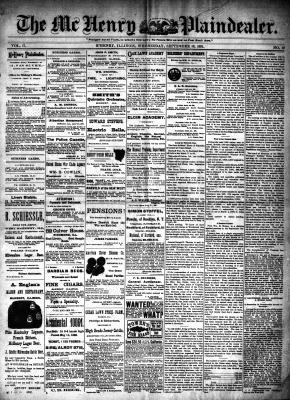 McHenry Plaindealer (McHenry, IL), 16 Sep 1891