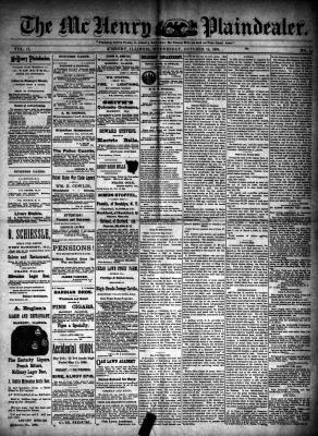 McHenry Plaindealer (McHenry, IL), 14 Oct 1891
