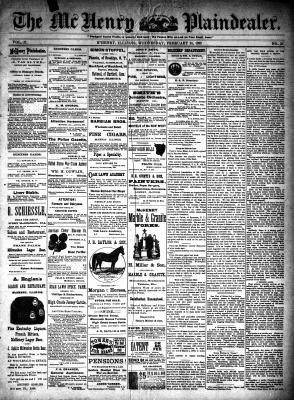 McHenry Plaindealer (McHenry, IL), 24 Feb 1892
