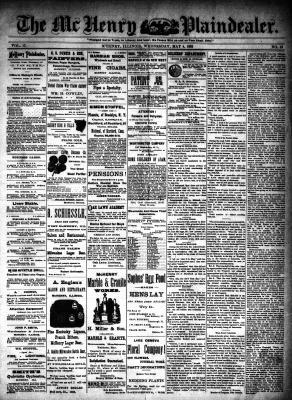 McHenry Plaindealer (McHenry, IL), 4 May 1892