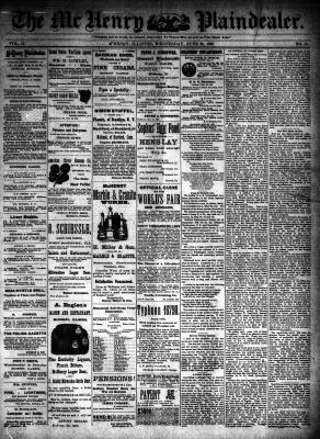 McHenry Plaindealer (McHenry, IL), 29 Jun 1892