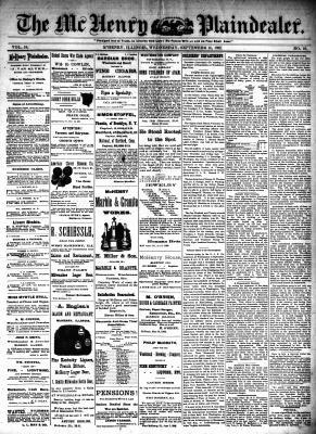 McHenry Plaindealer (McHenry, IL), 14 Sep 1892