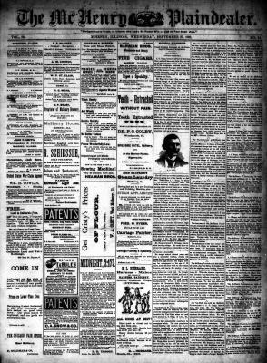 McHenry Plaindealer (McHenry, IL), 27 Sep 1893