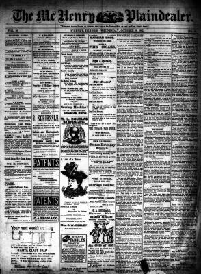 McHenry Plaindealer (McHenry, IL), 18 Oct 1893