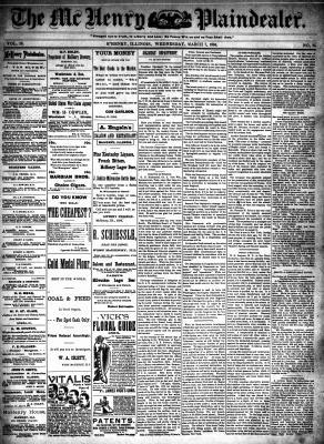 McHenry Plaindealer (McHenry, IL), 7 Mar 1894