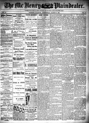 McHenry Plaindealer (McHenry, IL), 21 Mar 1894