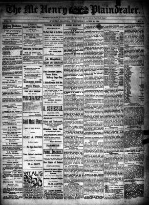 McHenry Plaindealer (McHenry, IL), 25 Apr 1894