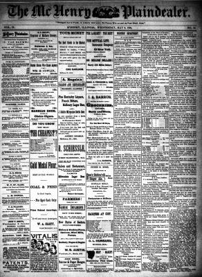 McHenry Plaindealer (McHenry, IL), 9 May 1894