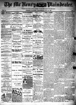McHenry Plaindealer (McHenry, IL), 25 Jul 1894