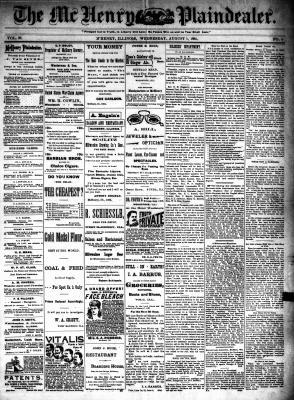 McHenry Plaindealer (McHenry, IL), 1 Aug 1894